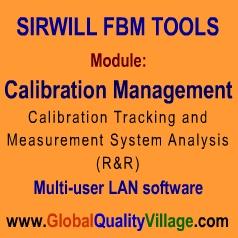 FBM Tools-Calibration Management module (STANDARD) - DL/CD
